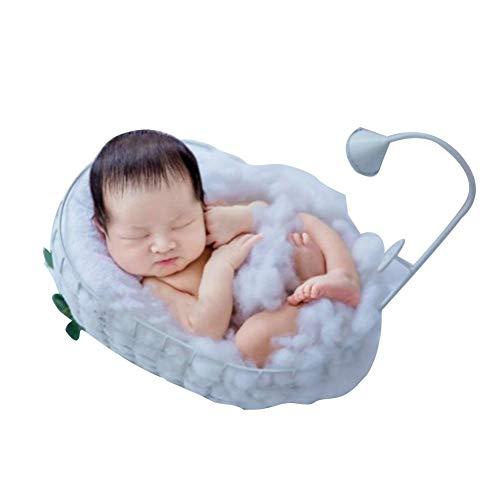 SNIIA pasgeboren babymand fotografie bed maand badkamer kleine badkuip rekwisieten fotografie meubel - 35 x 25 x 13 cm