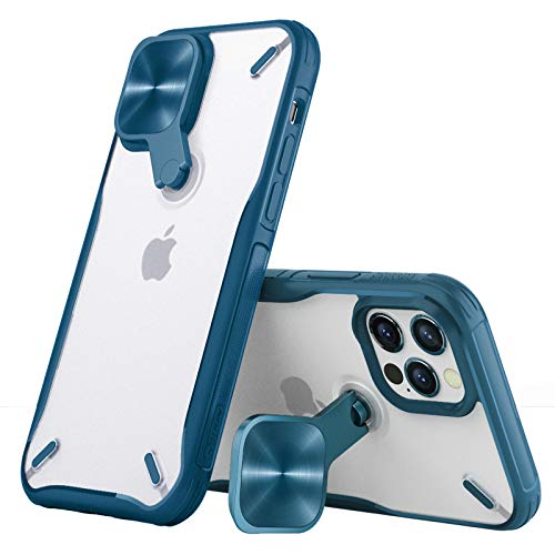 Nillkin Camshield Pro Cyclops Clear iPhone 12/12 Pro Case, Spinnable Lens...