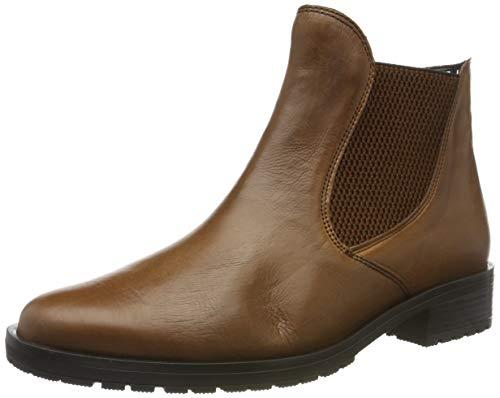Gabor Damen Comfort Sport Stiefeletten, Beige (Cognac (Micro) 61), 37 EU