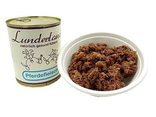 Lunderland 100% Pferdefleisch 2 x 800g Dosen (insg. 1,6kg)