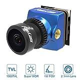 Runcam Phoenix 2 Nano Fpv Camera 1000Tvl Fov 155 Gradi 1 / 2Inch Super Global Sensore di Immagine Wdr Mini Cam con 2. Obiettivo 1Mm 4: 3 16: 9 Commutabile per Rc Fpv Racing Drone Quadricottero Blu
