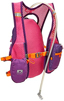 Nathan Hydration Running Vest - 2 Liter Hydration Pack with Bite Valve - Smartphone Compatible Pocket for Storing Essentials - Designed Specifically for Women (Very Berry Color)