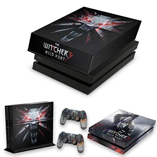 Capa Anti Poeira e Skin para PS4 Fat - The Witcher #A