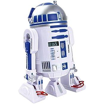 Reloj despertador Proyector R2D2. Star Wars: Amazon.es: Hogar