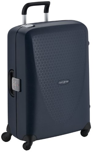 Samsonite Termo Young Spinner M Maleta, 70 cm, 69 L, Azul (Dark Blue)