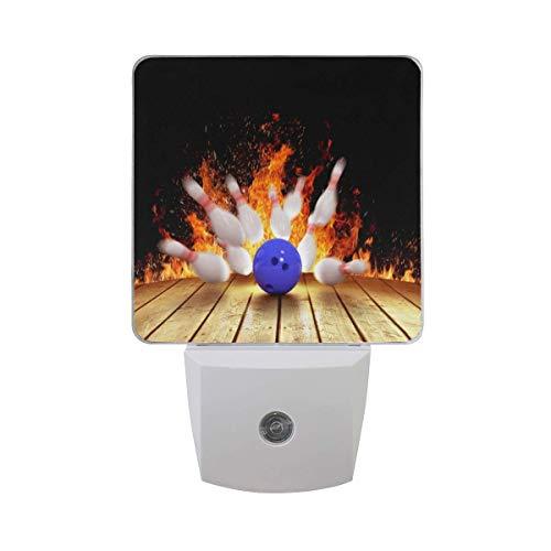 Paquete de 2 lámparas LED de luz nocturna enchufables con sensor de atardecer a amanecer para dormitorio, baño, pasillo, escaleras, etc.