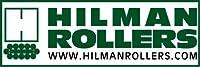Hilman 12トンデラックスブルドーリーキット スイベルパッドトップ スチールホイール