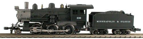 Steam 2-6-0 Mogul - Standard DC -- Minneapolis & St. Louis -  Model Power, 87605