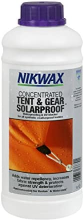 Nikwax Tent and Gear Cleaning, Waterproofing, and UV Protection