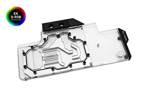 EK Water Blocks - WaterBlock VGA EK-Quantum Vector Trio RTX 2080 Ti D-RGB, Nickel/Plexi