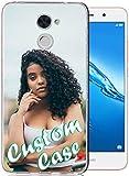 Coque de téléphone personnalisée pour Huawei Y7 2017 avec 1 film protecteur d'écran -...