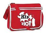 Bolsa para el hombro de impresora Druckerlebnis24 – Hip Hop Grafitti spray – Bolso bandolera adecuado para escuela, universidad, ordenador portátil