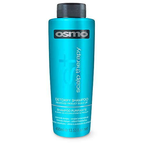 Osmo Scalp Therapy Detoxify Shampoo 400ml - Removes Build-Up & Impurities But Retains Moisture