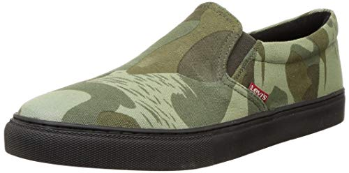 Levi's Men Basel Slip Camouflage Sneakers-9 UK (43 EU) (10 US) (38099-1812)