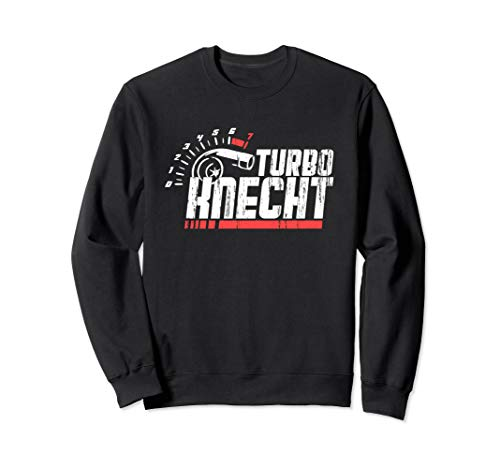Turbolader Tuning Design Turboknecht Sweatshirt