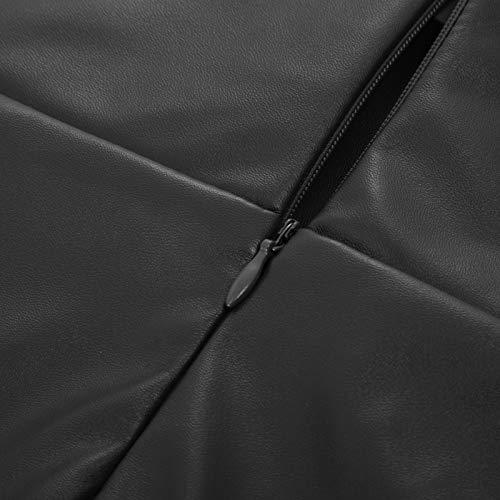GRACE KARIN Mujer Falda de Cuero para Mujer Bodycon Falda Tubo para Fiesta Tamaño L DECL05-1