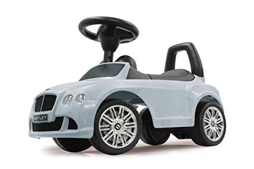 Jamara - 460225 - Push Car Bentley Continental GT Speed Blanc -