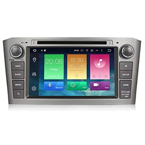 2 din Android 6.0 7 Zoll Auto DVD Player mit GPS Navigation System Für Toyota/Avensis T25 2003-2008 acht Kerne Radio FM GPS