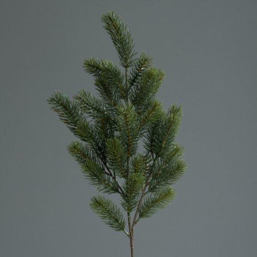 mucplants Kunststoff Tannenzweig 65cm künstliche Tannenzweige Kunststoff Kunsttanne Spritzguss-Verfahren 100% PE