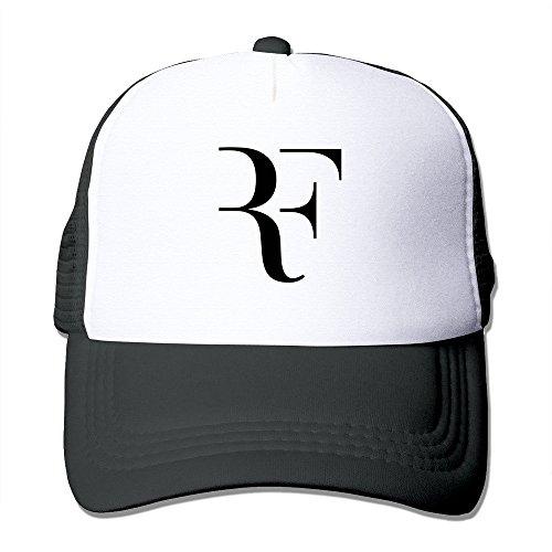 Pimkly Gorra para hombre,Gorras Beisbol Customized Roger Federer 2015 Wimbledon Men/Women Baseball Caps Trucker Hat Adjustable 100% Nylon By JE9WZ Black