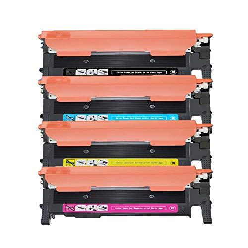 Karl Aiken - Cartuchos de tóner compatibles con Samsung CLT-K404S, CLT-C404S, CLT-M404S, CLT-Y404S para Xpress SL-C430W SL-C480FN SL-C480FW SL-C480W SL-C432W SL-C433W SL-C482FW SL-C482W SL-C483FW