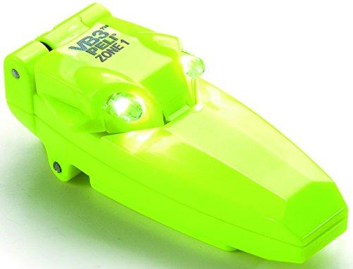 PELI VB3 2220Z1 Linterna LED compacta con clip y con certificado de seguridad ATEX Zona 1, Resistente al agua IPX4, 34h de autonomía, Color: amarillo