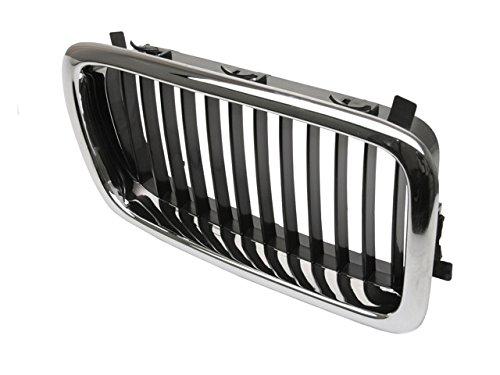 Price comparison product image Ziegler for BMW E-38 (-08 / 98) Grille Right Chrome+Black