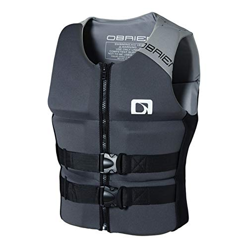 Sports Dynamic Paddle Life Jacket Survival Vest with Emergency Whistle and Reflective Strips for Diving Swimming Life Jackets Adult