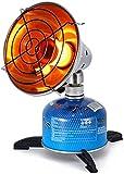 RENXR Mini Calentador De Patio Al Aire Libre, Calentador De Gas Portátil, Calentador De Exterior, Calefacción De Gas Propano Pequeña, Calentador De Tienda De Propano Butano para Acampar