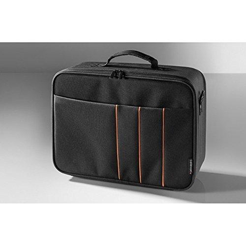 celexon Beamertasche Economy - 32x23x10 cm - Hartschalenrahmen - wasserabweisend & abwaschbar - 100% Polyester - schwarz