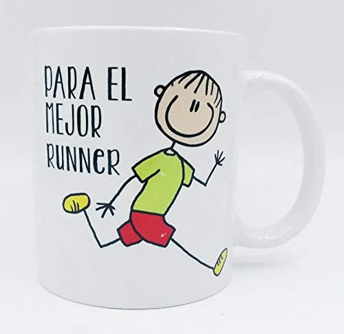 Taza ''Para el mejor runner'