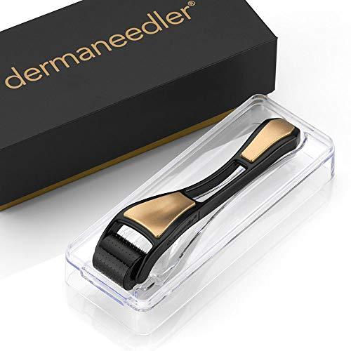 Dermaneedler® - Dermaroller mit 192 runden vergoldeten Nadeln - das Original, Nadellänge:1.50mm