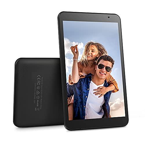 Tableta de 8 Pulgadas con procesador de Cuatro núcleos, Tableta S8 Android 9.0 con CPU de 2GB + 32GB, Tableta para niños con cámara de 5MP, Tableta Compatible con GPS, FM y Wi-Fi