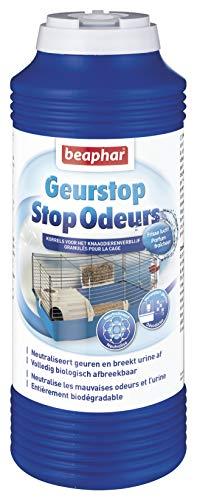 beaphar Geruchsstopp-Granulat/Geruchsneutralisierer für Streu, für Nagetiere, 600g