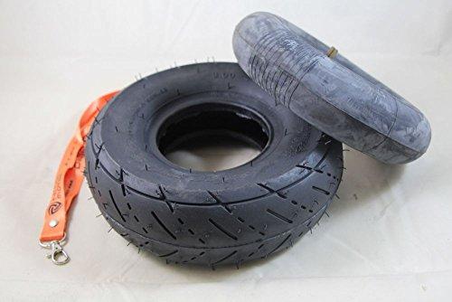 Reifen mit Schlauch 3.00-4 für Quad ATV Bollerwagen Sackkarre 4 Zoll 4