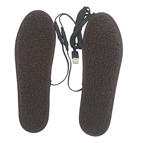 MongKok Elektrische kussens, verwarmde inlegzolen, USB, elektrische bekleding, wintervoetwarmer, schoenen, laarverwarming, inlegzolen