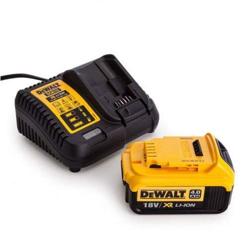 DeWalt DCB182 - Batería de ion de litio (18 V, 4,0 Ah, cargador de voltaje DCB115, 10,8 V-18 V)