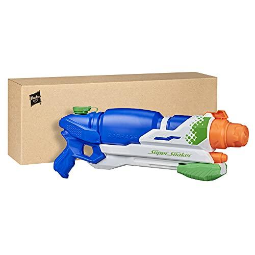 SuperSoaker Barrage, Wasserpistole mit drei Modi, für Kinder ab 8 Jahren