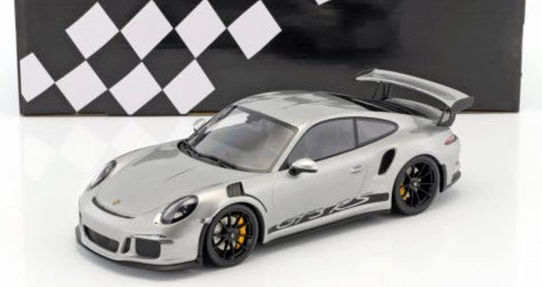 el mas reciente Minichamps Porsche Porsche Porsche 911 991GT3RS 2015Coche de ferroCocheril de Collection, 153066232, Plata  estilo clásico