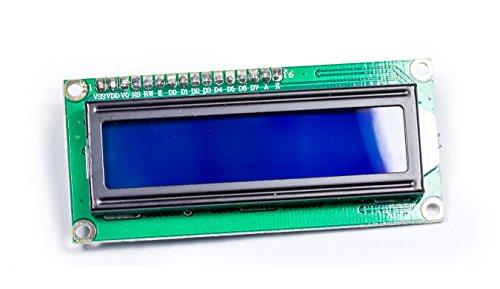 MissBirdler I2C IIC 1602 16x2 tekens LCD-scherm HD44780 blauw BL voor Arduino Raspberry Pi