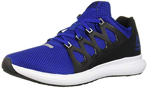 Reebok Men's Driftium Ride 2.0 Running Shoe, Cobalt/Black/White, 11 M US