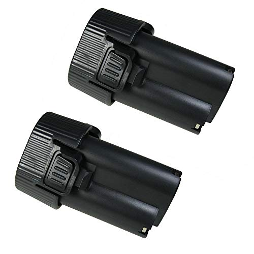 2x Hochleistungs Li-Ion Akku, 10,8V / 2500mAh für Makita HS300 HS300D HS300DW HS300DWE HS300DWJ HS300DZ HU01 HU01Z JR100DWE JR102 JR102D JR102DZ JR102DWE JV100 JV100DW JV100DZ UM164DWE