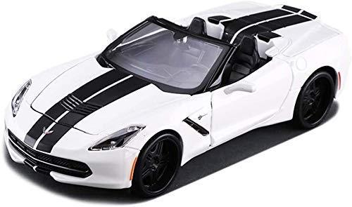 1/24 Ratio Corvette Convertible Car Model Diecasting Simulation Alloy Kids Toys Decoration Ornaments Jewelry 19x8.5x5cm WTZ012