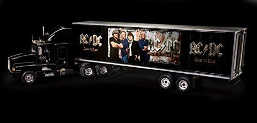 Revell RV07453 Fan-Edition, Geschenkset AC/DC Truck Rock or Bust World Tour, LKW-Bausatz 1:32, Länge 55,2 cm Fanartikel REV-07453, unlackiert
