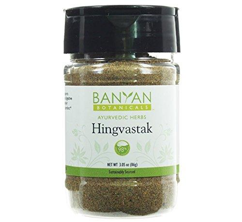 Banyan Botanicals Hingvastak Powder Spice Jar - 98% USDA Organic - Warming & Nourishing Digestive Aid - Calms Gas & Bloating - Ayurvedic Spice Blend*