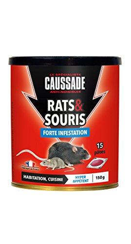 mort au rat auchan