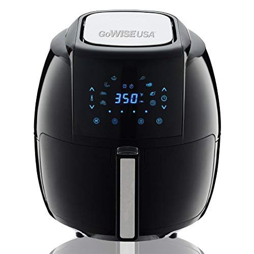 8 in 1 Digital Air Fryer with Recipe Book