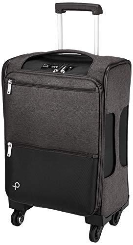[プロテカ] スーツケース等 日本製 アクトーイ 1~2泊向け ソフトトロリー サイレントキャスター キャスターストッパー付き 機内持ち込み可 30L 55 cm 2.9kg ブラック