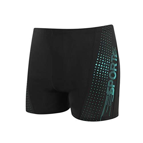 Yowablo Maillots de Bain sous-vêtements Hommes Slim Respirant Trunks Pants Quick Dry Beach (4XL,7Vert)