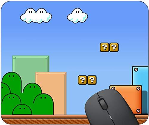 Super Mario 3 Landscape Mouse Pad - Standard Size (10' x 8.5') - Non Slip